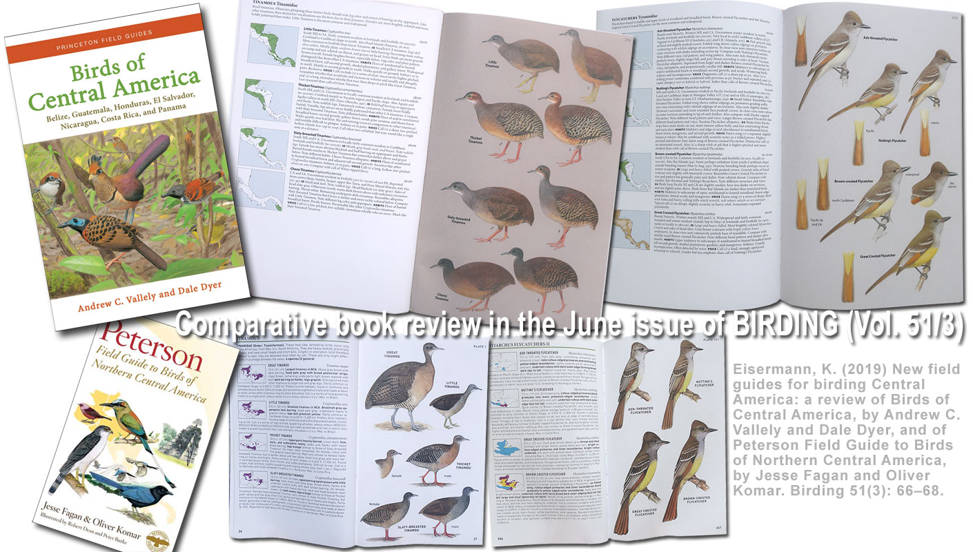 book review in BIRDING magazine, June 2019