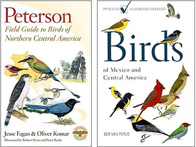Peterson, van Berlo, birds of Mexico, Central America